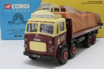 Corgi 24501 Leyland 8w Flatbed J&a Smith Sheeted Load Plus Boxed